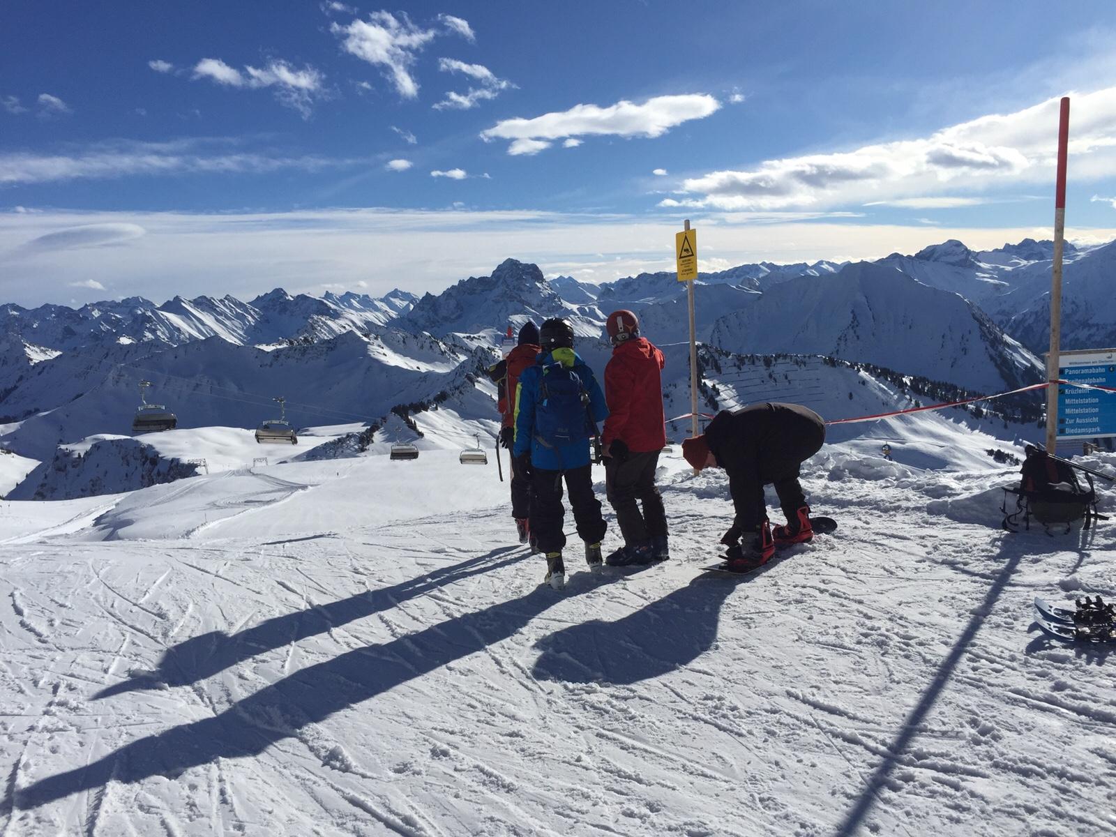 Skigebiet Diedamskopf